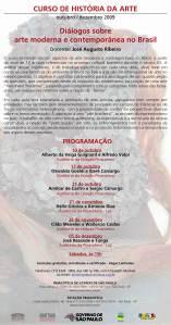 Curso de história da arte Pinacoteca